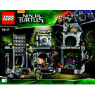 LEGO Turtle Lair Invasion Set 79117 Instructions