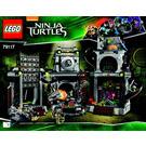 LEGO Turtle Lair Invasion Set 79117 Instructions