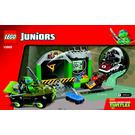 LEGO Turtle Lair Set 10669 Instructions