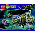 LEGO Turtle Sub Undersea Chase Set 79121 Instructions