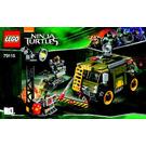 LEGO Turtle Van Takedown Set 79115 Instructions