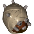 LEGO Tusken Raider Head (19539 / 33774)
