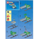LEGO TV Chopper Set 6425 Instructions