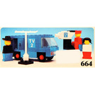 LEGO TV Crew Set 664-1