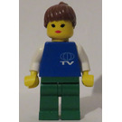 LEGO TV Worker Minifigure