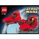 LEGO Twin-Pod Cloud Car Set 7119 Instructions