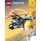 LEGO Twin-Rotor Helicopter Set 31096 Instructions