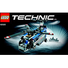 LEGO Twin rotor helicopter Set 42020 Instructions