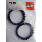LEGO Two Rubber Crawler Tracks Set 1105