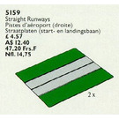 LEGO Two Straight Airport Runways Set 5159