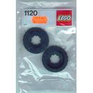 LEGO Two Tyres, 42 mm Diameter Set 1120