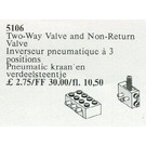LEGO Two-Way Valve and Non-Return Valve Set 5106
