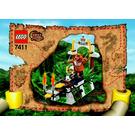LEGO Tygurah's Roar Set 7411 Instructions