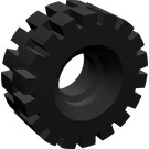 LEGO Tyre 8/ 75 x 8 Offset Tread (4084)