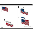 LEGO U.S. Flag Set 10042 Instructions