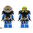 LEGO UFO Alien Blue Minifigure