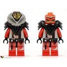 LEGO UFO Alien Red Minifigure