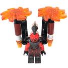 LEGO Ultimate General Magmar Minifigure