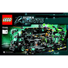 LEGO Ultra Agents Mission HQ Set 70165 Instructions