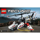 LEGO Ultralight Helicopter Set 42057 Instructions