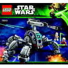 LEGO Umbaran MHC (Mobile Heavy Cannon) Set 75013 Instructions