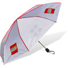 LEGO Umbrella - White with Logo and Studs (852988)