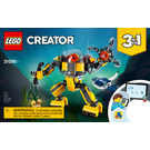 LEGO Underwater Robot Set 31090 Instructions