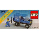 LEGO UNICEF Van Set 106
