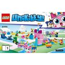 LEGO Unikingdom Creative Brick Box Set 41455 Instructions