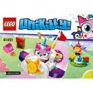 LEGO Unikitty Cloud Car Set 41451 Instructions