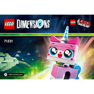 LEGO Unikitty Fun Pack Set 71231 Instructions