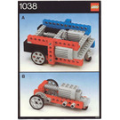 LEGO Universal Buggy Set 1038 Instructions