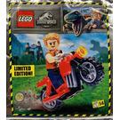 LEGO Owen and red motorbike Set 122114