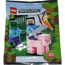 LEGO Steve, Zombie and Pig Set 662101