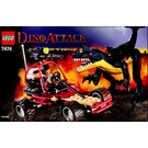 LEGO Urban Avenger vs. Raptor Set 7474 Instructions