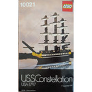 LEGO USS Constellation Set 10021 Instructions