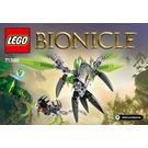 LEGO Uxar - Creature of Jungle Set 71300 Instructions