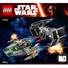 LEGO Vader's TIE Advanced vs. A-wing Starfighter Set 75150 Instructions