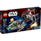LEGO Vader's TIE Advanced vs. A-wing Starfighter Set 75150 Packaging