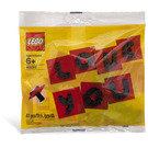 LEGO Valentine Letter Set 40016 Packaging