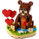 LEGO Valentine's Brown Bear Set 40462