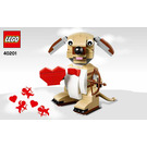 LEGO Valentine's Cupid Dog Set 40201 Instructions