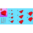 LEGO Valentine's Day Heart Box Set 40051 Instructions