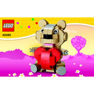 LEGO Valentine Set 40085 Instructions