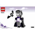 LEGO Vampire and Bat Set 40203 Instructions