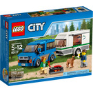 LEGO Van & Caravan Set 60117 Packaging