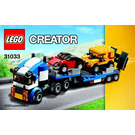 LEGO Vehicle Transporter Set 31033 Instructions