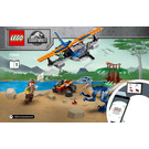 LEGO Velociraptor: Biplane Rescue Mission Set 75942 Instructions