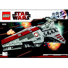 LEGO Venator-Class Republic Attack Cruiser Set 8039 Instructions