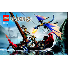 LEGO Viking Boat against the Wyvern Dragon Set 7016 Instructions